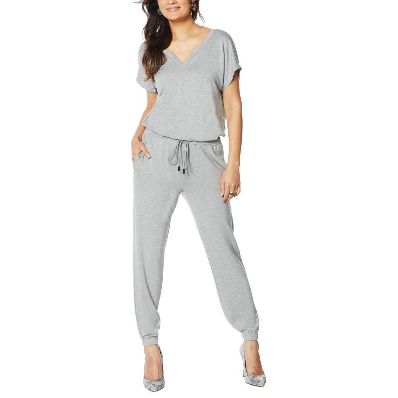 Skinnygirl Brave French-Terry Jumpsuit