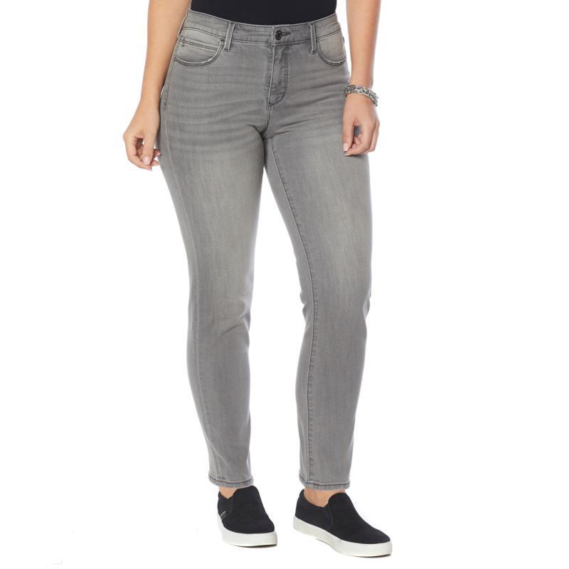 Skinnygirl Celeste Straight-Leg High-Rise Jean