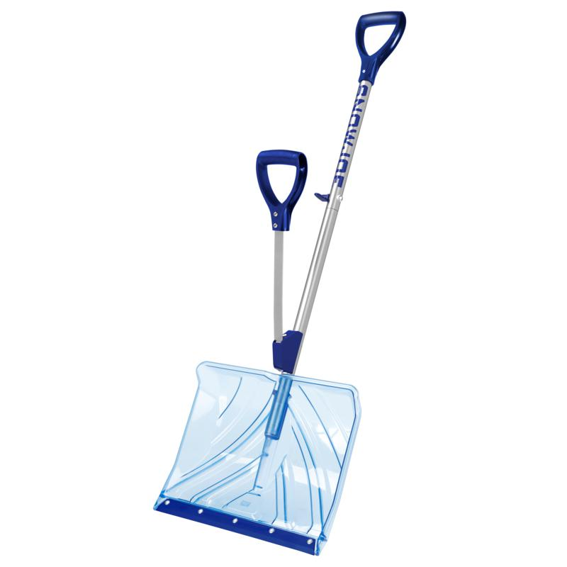 Snow Joe®  18'' Snow Shovel with Spring-Assisted Handle