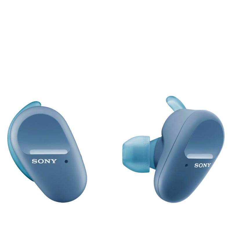 Sony WF-SP800N Truly Wireless Noise-Cancelling Sport Earbuds with Case