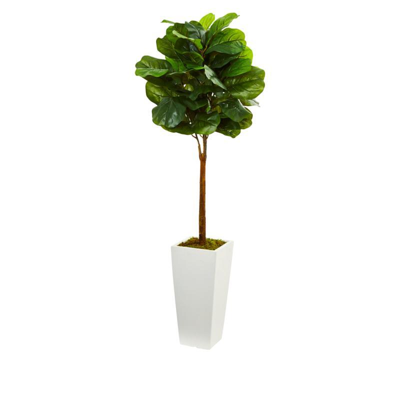South Street Loft 4' Fiddle Leaf Tree in Decorative Pot