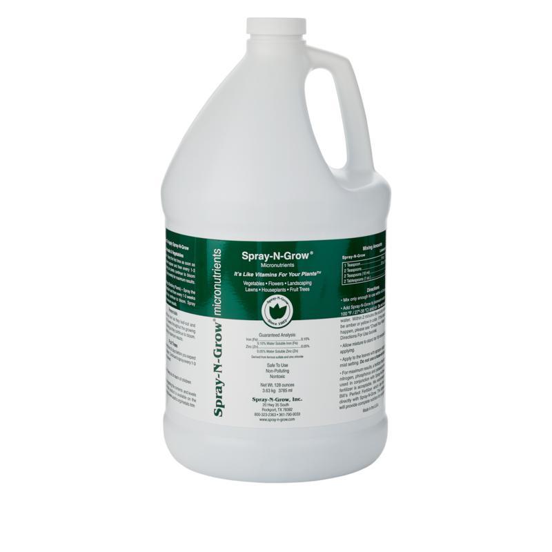 Spray-N-Grow Micronutrients 1-Gallon Bottle