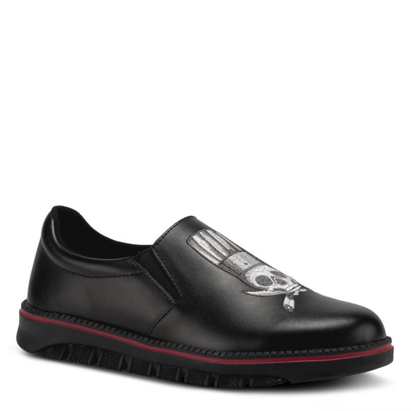 Spring Step Professional Men's Leather Power-Knives Slip-On Shoe