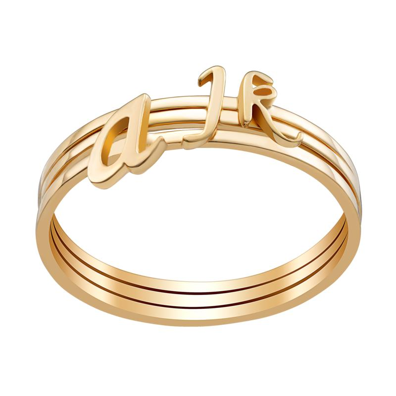 Sterling Silver or Gold over Sterling Petite Lowercase Script Initi...