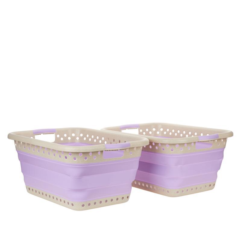 StoreSmith Laundry Baskets - Set of 2