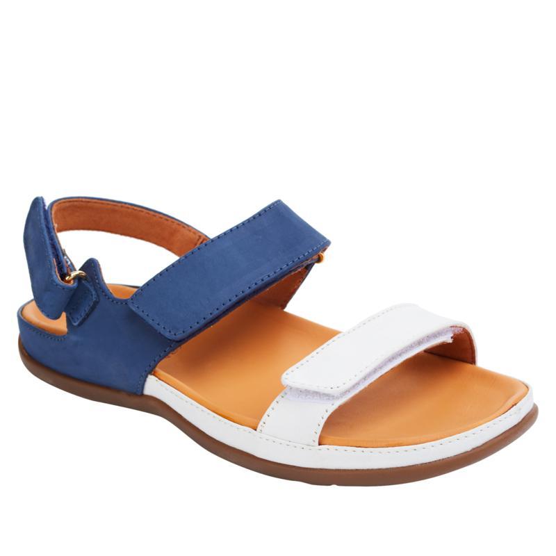 Strive Kona Leather Fully Adjustable Orthotic Sandal