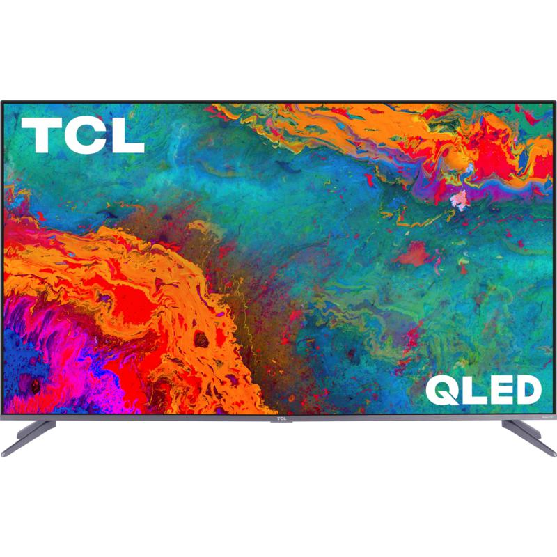 """TCL S535 50"""" 4K HDR Roku TV with 6ft HDMI Cable and Voucher"""