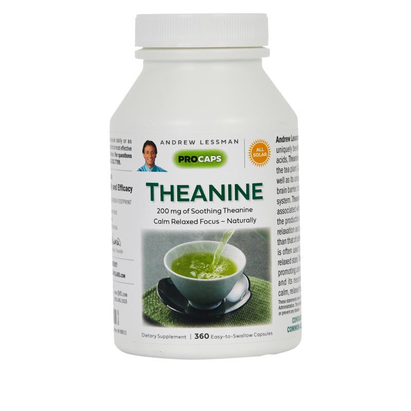 Theanine 200 - 360 Capsules
