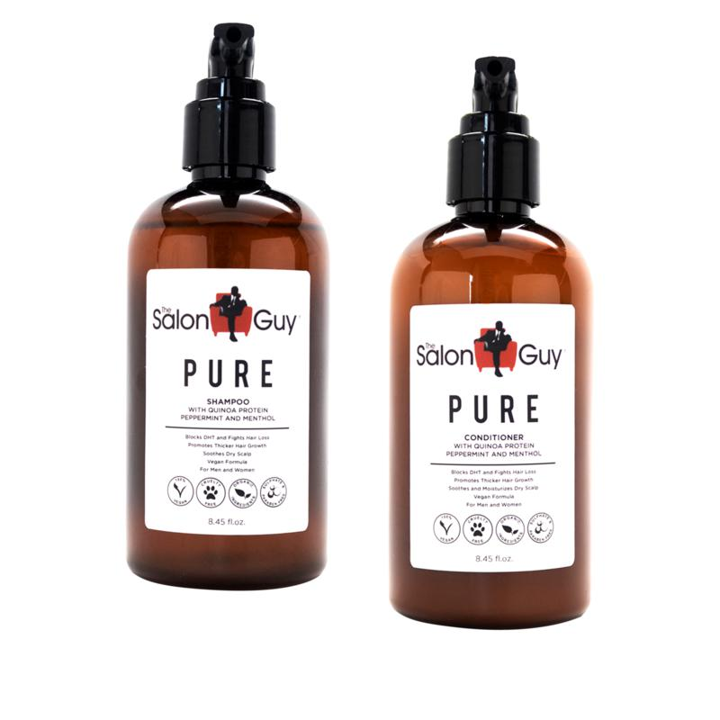 TheSalonGuy PURE Quinoa Protein Shampoo and Conditioner Duo Set