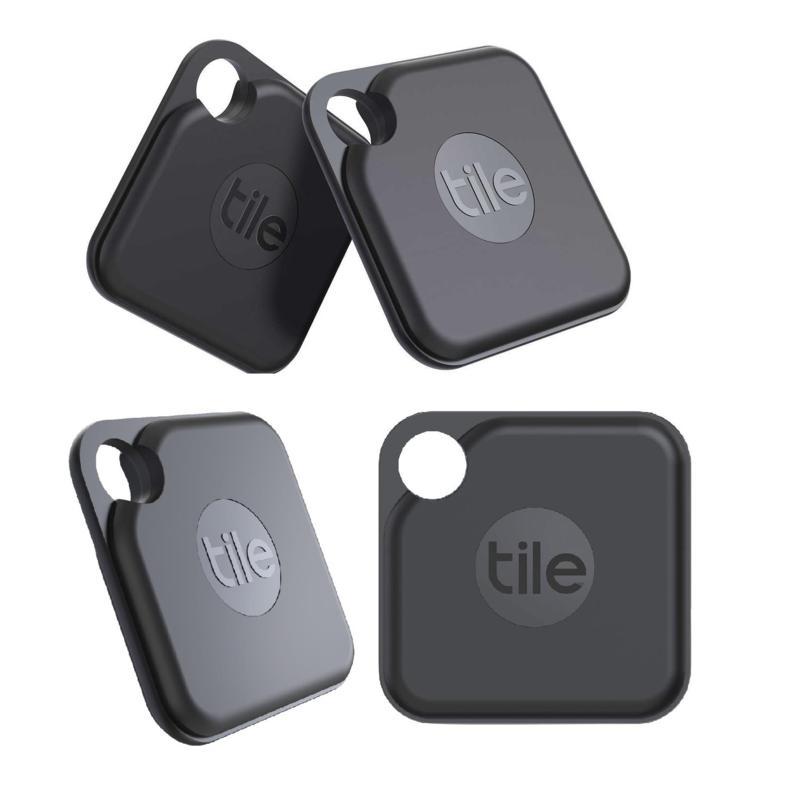 Tile Pro (2020) Black - 4-Pack