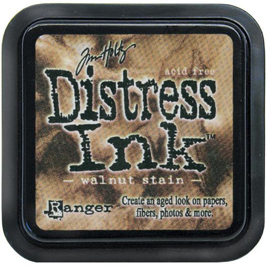 Tim Holtz Distress Ink Pad - Walnut Stain