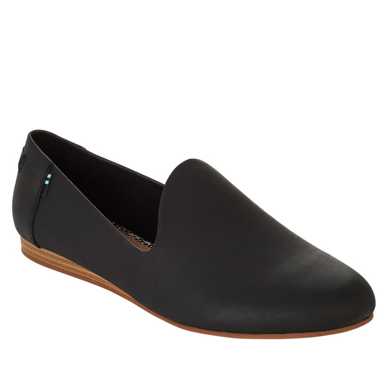 TOMS Darcy Leather Flat