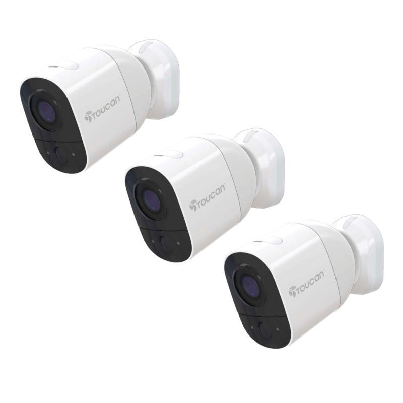 Toucan 3-pack Wireless Indoor/Outdoor Security Camera