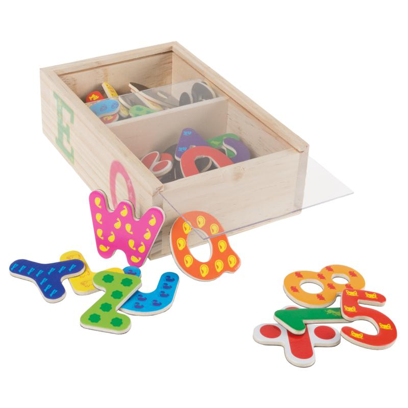 Toy Time 52-piece Math and Alphabet Magnet Set