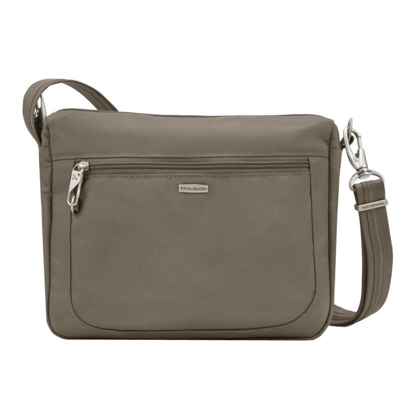 Travelon Classic Anti-Theft Small East/West Crossbody Bag