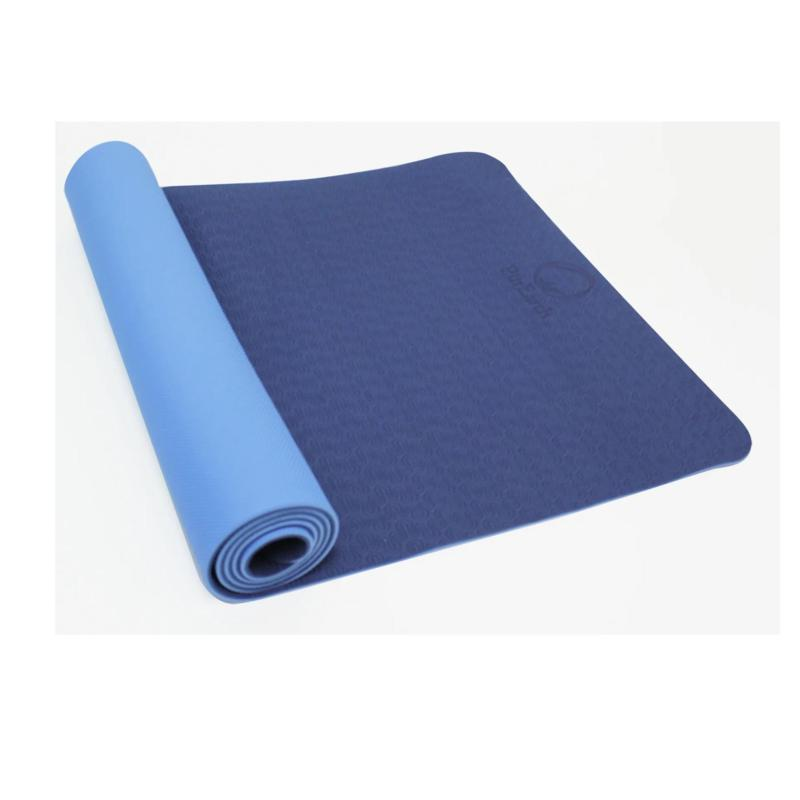 Trimax Sports PurEarth 2 Eco Mat - Navy and Light Blue