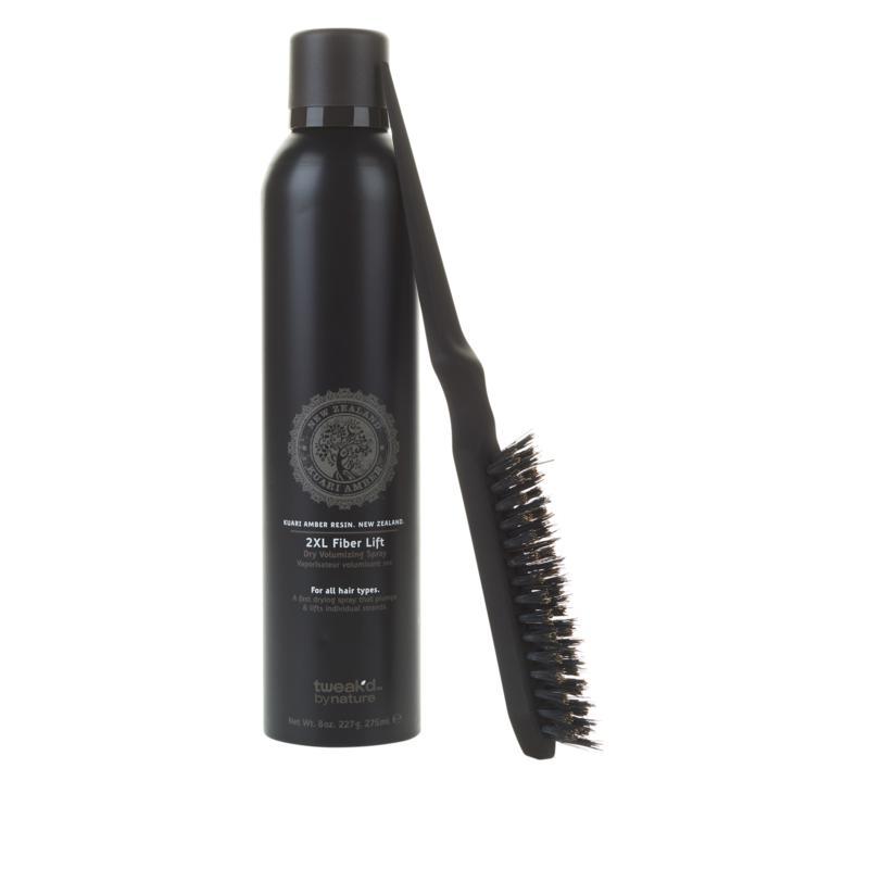 Tweak-d 2XL Fiber Spray and Teasing Brush Volume Set