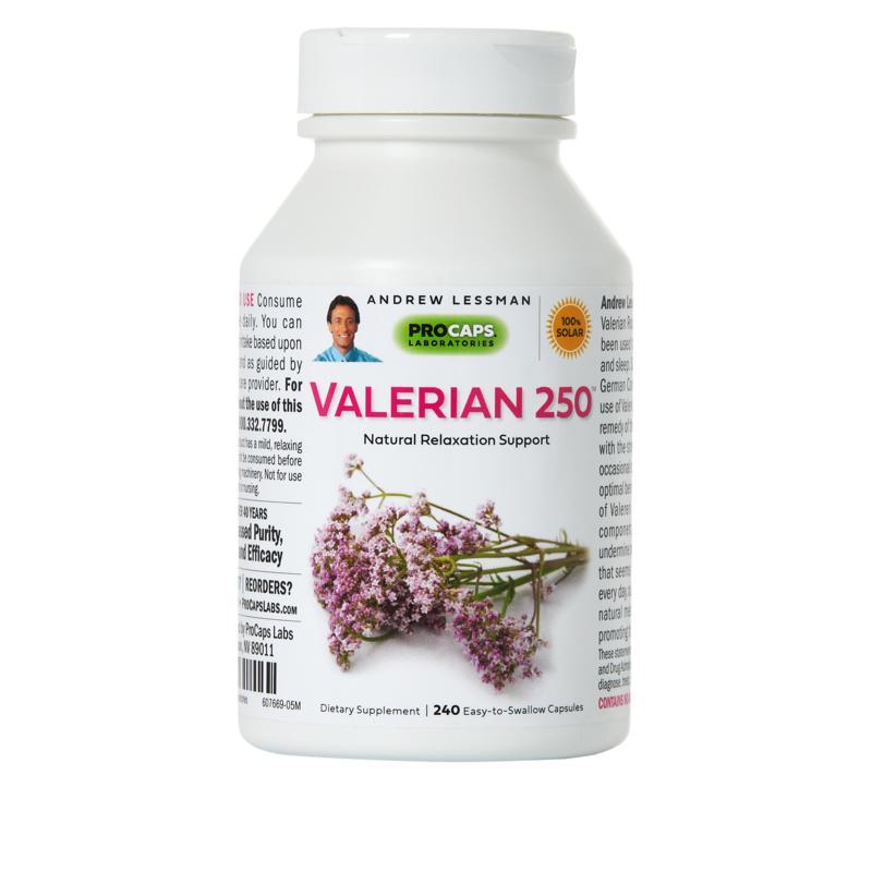 Valerian-250 - 240 Capsules