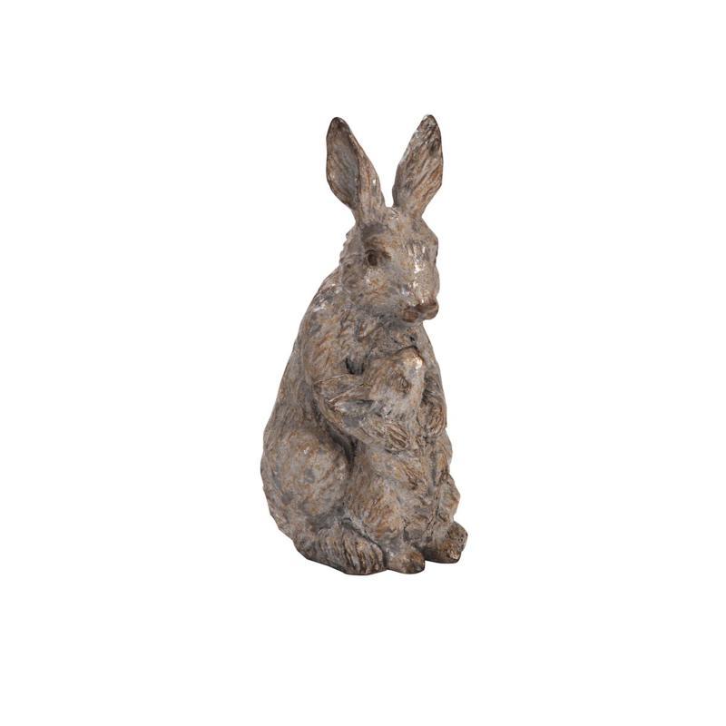Weatherd Granite Rabbit Small Hard Figure