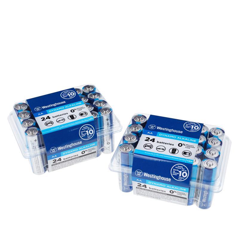 Westinghouse 48-pack AA Alkaline Batteries