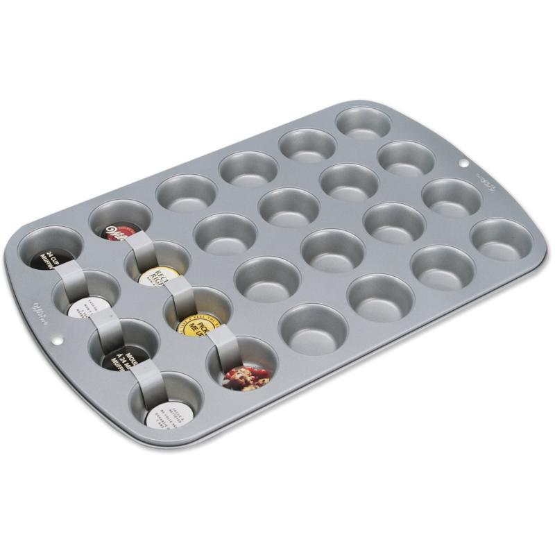 Wilton Recipe Right Mini-Muffin Pan - 24 Cavity