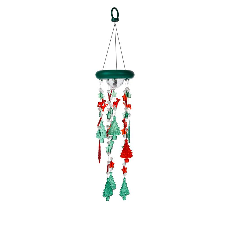 Wind & Weather Battery-Operated Holiday Mobile with 6-Hour Timer