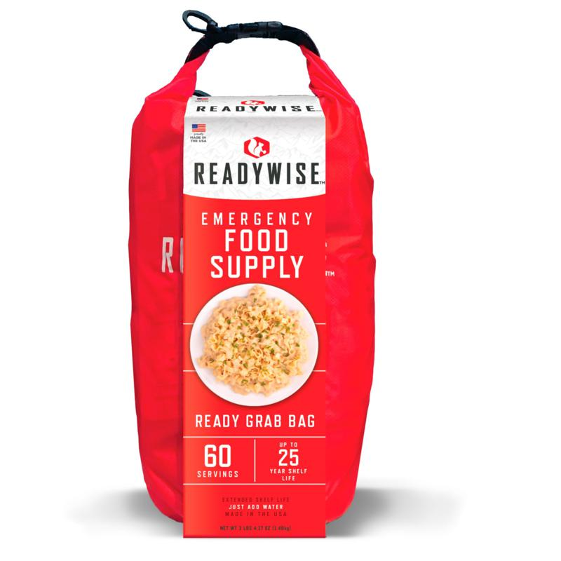 Wise Company Emergency Food Supply Ready Grab Bag - 60-serving