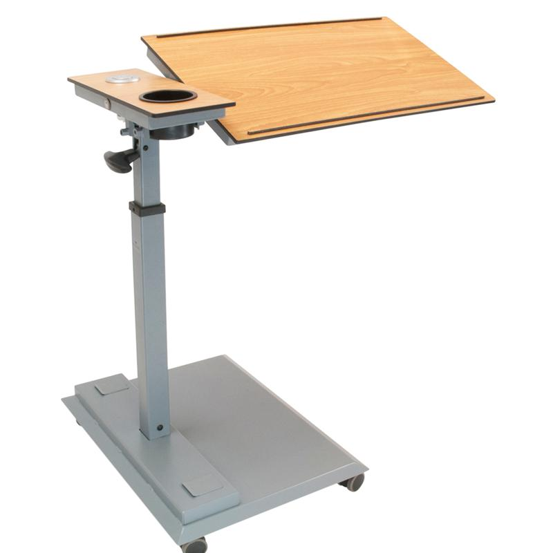 WiseLift Standing Desk/Overbed Table with USB Ports