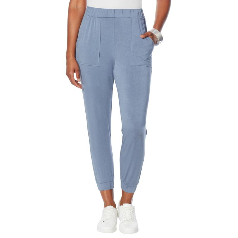WynneLayers Jersey Knit Pull-On Jogger Pant