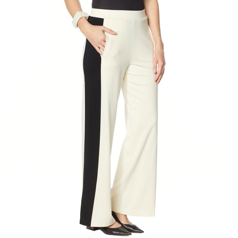 WynneLayers Luxe Knit Wide Leg Pull-On Pant