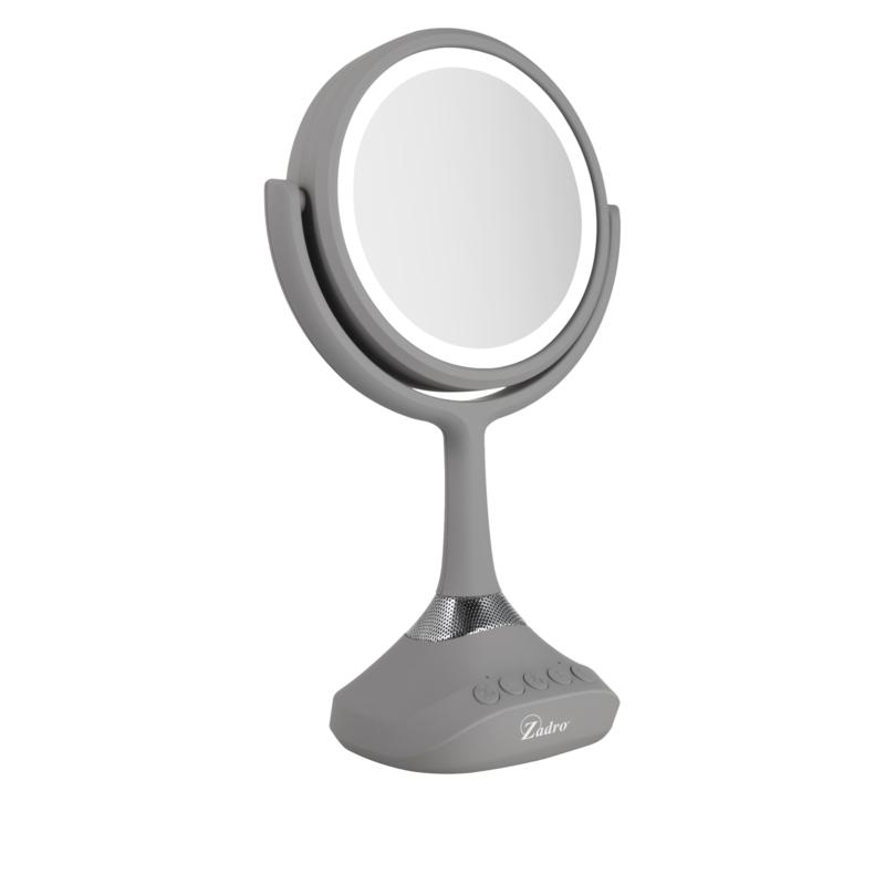 Zadro Dual Sided Bluetooth Led Vanity, Silhouette Led Vanity Mirror Reviews