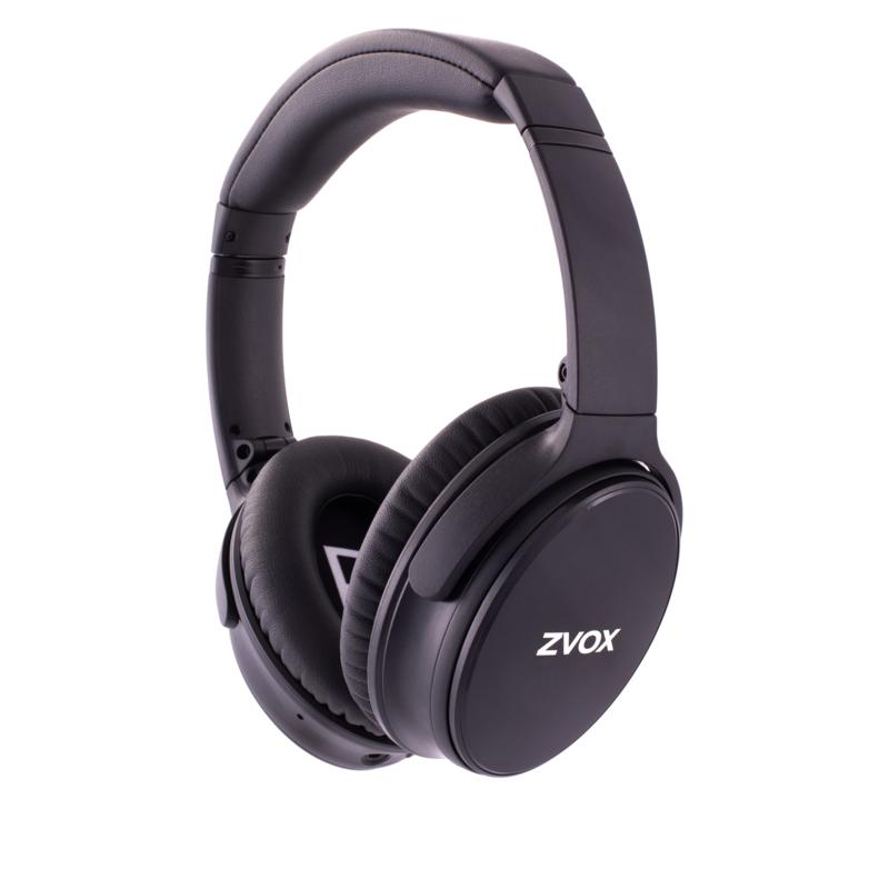 ZVOX AV50 AccuVoice Noise-Cancelling Bluetooth Headphones w/Carry Case
