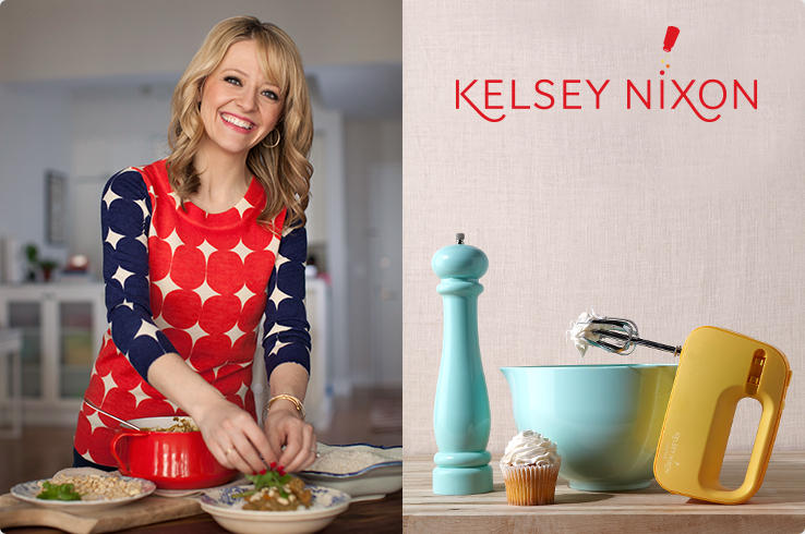 Kelsey Nixon - Thoughtfully designed for multi-use and saving space so you can cook with greater ease, confidence and style.